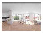 interactive visualisation of apartments Rezidence 3D