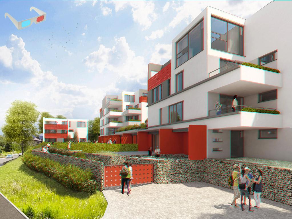 Modrany 3D - Rezidence 3D
